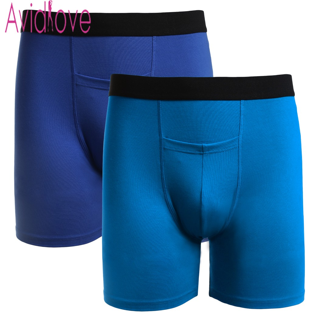 Bright Fashion Sexy Boxer Trunks Mens Soft Underpants Sexy Bulge Pouch Underwear Open Hip Male Sex Shorts Boxers Men's Underwear