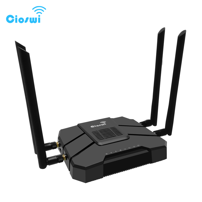 4g 3g Modem Router 1200Mbps WiFi Repeater 2.4G/5GHz 512MB Dual Band Gigabit openWRT Wireless WiFi Routers With SIM Card Slot unlock gsm edge gprs 3g wcdma wireless wifi lan rj45 modem router huawei e5151