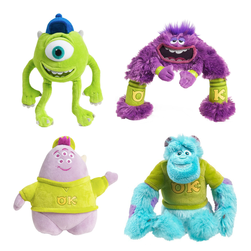 Monsters University Squishy Stuffed Animal : Small High Monsters University Series Art Mike Sulley Squishy Wazowskidoll plush toy for ...