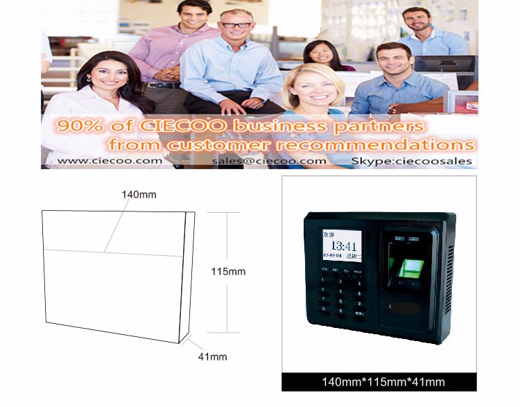 Biometric Building Management System ZK F2 Biometric Fingerprint Access Control and Time Attendence Security System for Door