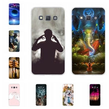 For Samsung Galaxy A3 Case Soft TPU Silicone A300F A300FU Cover Cartoon Patterned Shell Bag