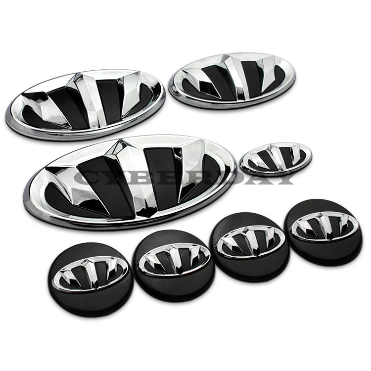New Refit Badge Logo Car Sticker Brenthon Emblem Rio Sportage For