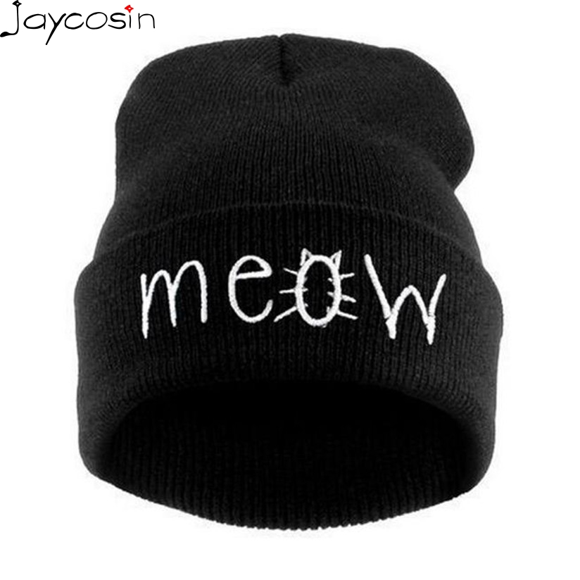 Hot Skullies Beanies Winter Hat pom pom Cap For Women Girl Vintage Solid Hemming Warm Spring Autumn Hat Female Drop Shipping -30 skullies beanies newborn cute winter kids baby hats knitted pom pom hat wool hemming hat drop shipping high quality s30