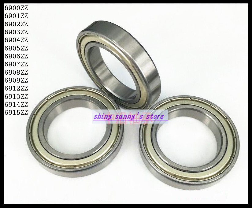 3pcs/Lot 6913ZZ 6913 ZZ 65x90x13mm Metal Shielded Deep Groove Ball Bearing Brand New 5pcs lot f6002zz f6002 zz 15x32x9mm metal shielded flange deep groove ball bearing