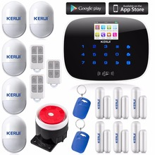 KERUI Вилла защиты Безопасности GSM Беспроводной Пульт Дистанционного Главная Дом Офис Охранной Сигнализации системы