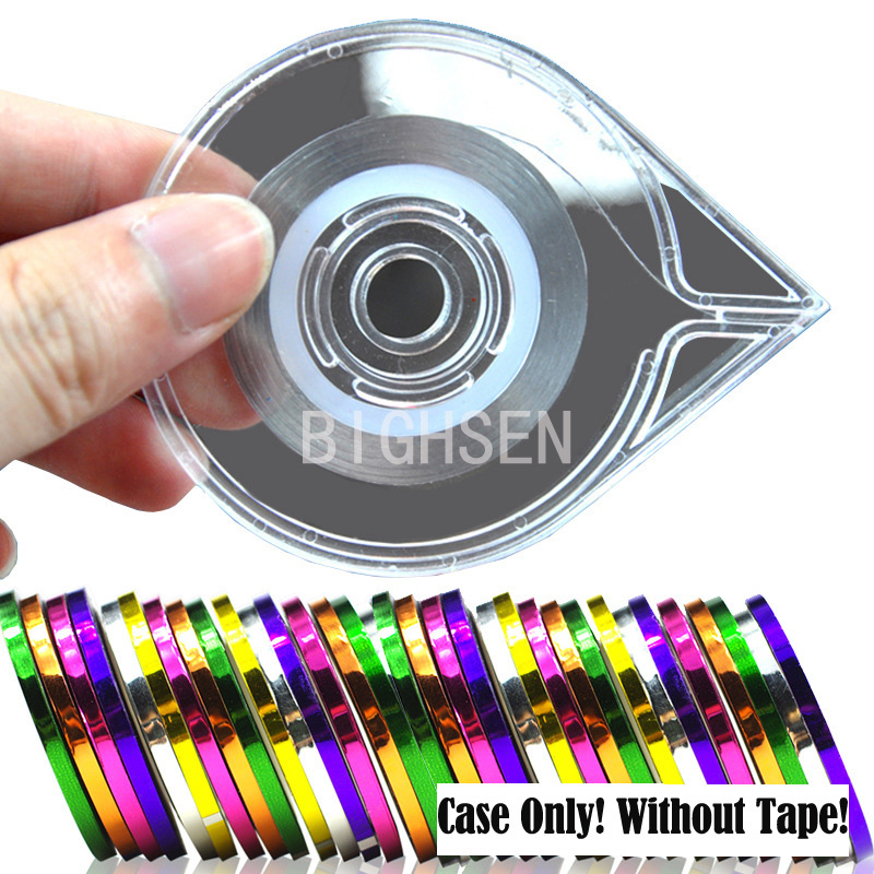 Striping Tape Line Nail Art: Nail Art Striping Tape Line Case Tools Sticker Decoration