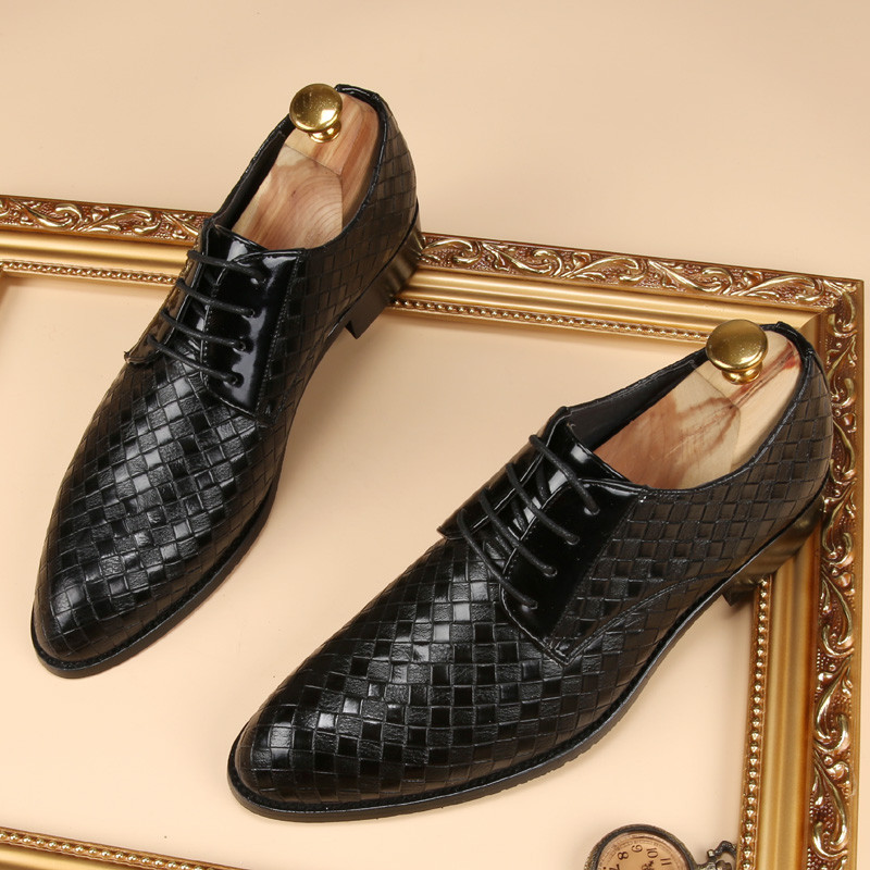glossy dress bespoke men shoes luxury brand retro italian comfort topsiders footwear unique vintage formal party loafer flats (32)
