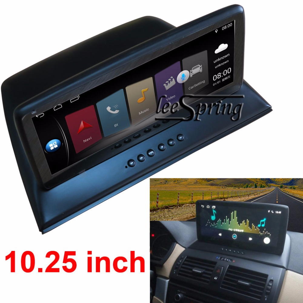 10,25 zoll Android 7.1 Auto Intelligente System Auto-Multimedia-Player für <font><b>BMW</b></font> <font><b>X3</b></font> <font><b>E83</b></font> mit GPS Navigation MP5 Bluetooth Wifi image