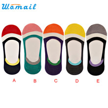 5 Colors Candy Color Women Socks Short Ankle