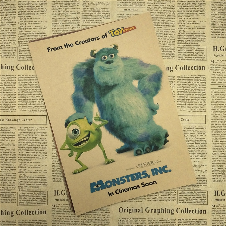 Enchanting Monsters Inc Wall Decor Motif - Wall Art Collections ...