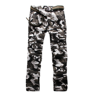 Men S Military Pants Camouflage Plus Size 38 40 Fashion Casual Cotton Cargo Pants For Man