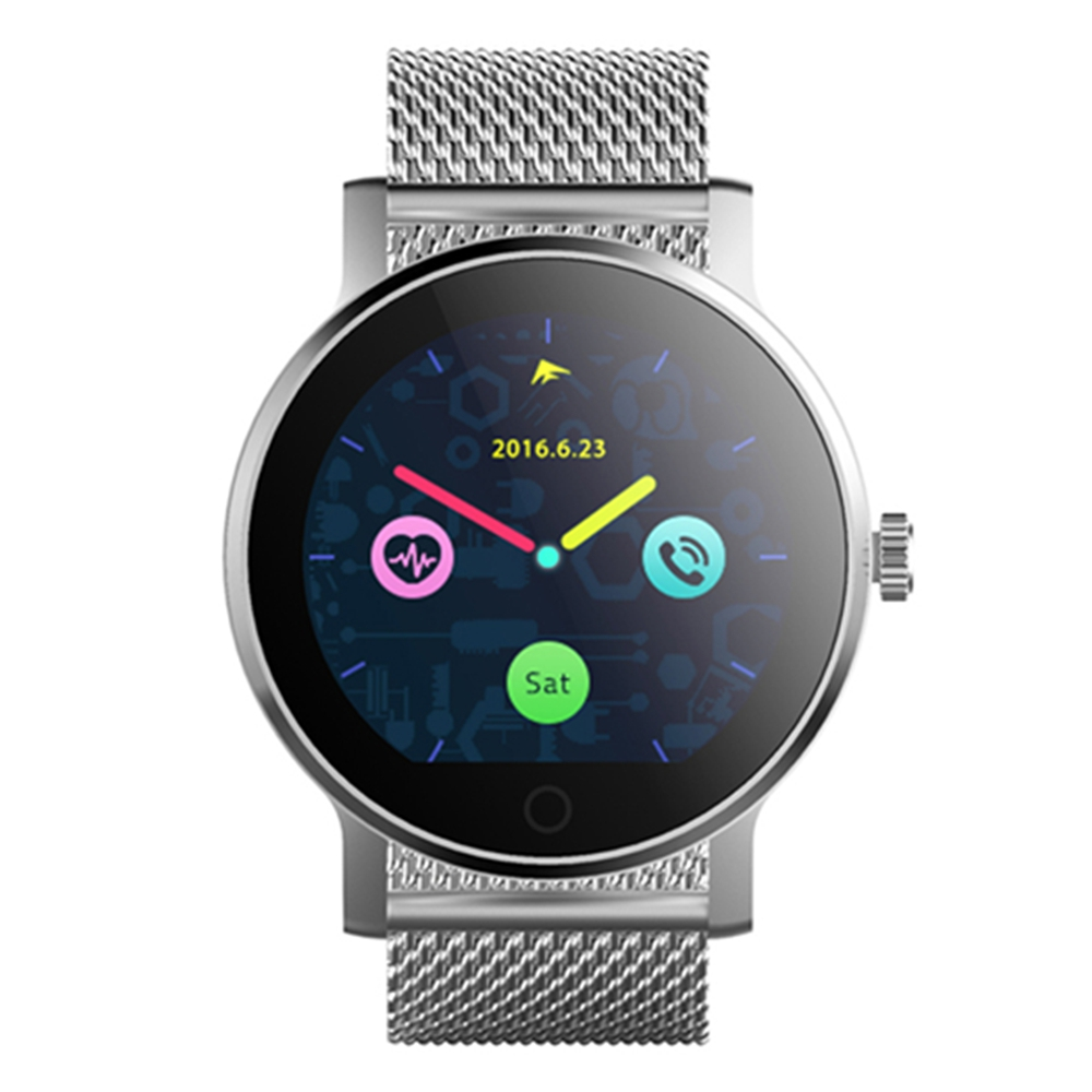 SMA-09 Bluetooth 4.0 Heart Rate Monitor Smart Watch Multiple UI Pedometer Sleep monitor Message reminder PK GT08 Q90 Q50 K88H tenfifteen hr07 smart watch with heart rate monitor pedometer sedentary reminder function