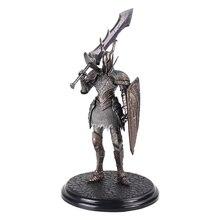 21cm Spiel Dark Souls 2 Warrior Schwarz Ritter Große Schwert Schild Top Spiele PVC Ation Figur Modell Sammeln Spielzeug