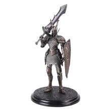 Jeu Dark soul 2 Warrior Black Knight, grand bouclier épée, jeux à collectionner, figurine en PVC, 21cm