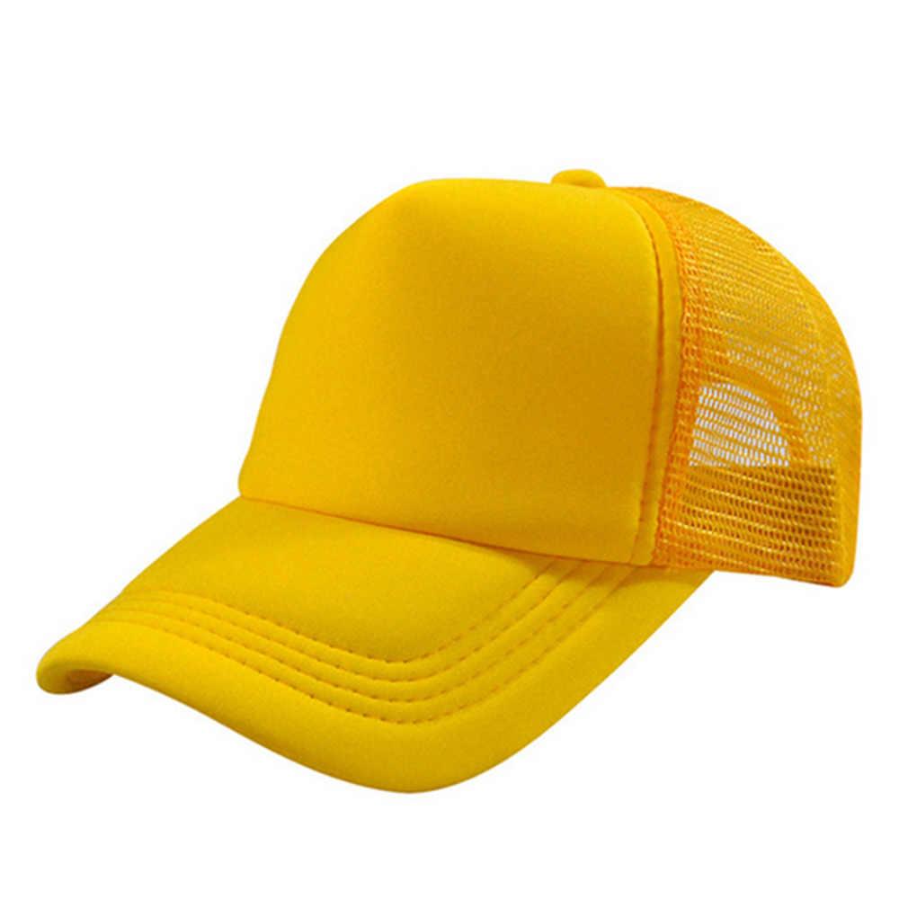2018 moda ajustable gorra de béisbol sólido camionero en blanco verano  Shading dibujo a mano Hat 8706c833cff