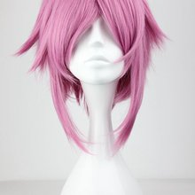 Anime Cosplay Sword Art Online Shinozaki Rika Pink Wig Halloween Role Play