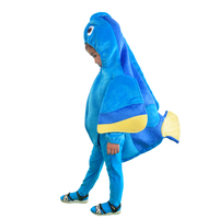 Kids Finding Dory Costume Blue Fish Dress Up Mascot Costume Baby Romper Totterring Toddlers Long Sleeve Jumpsuit With Pants