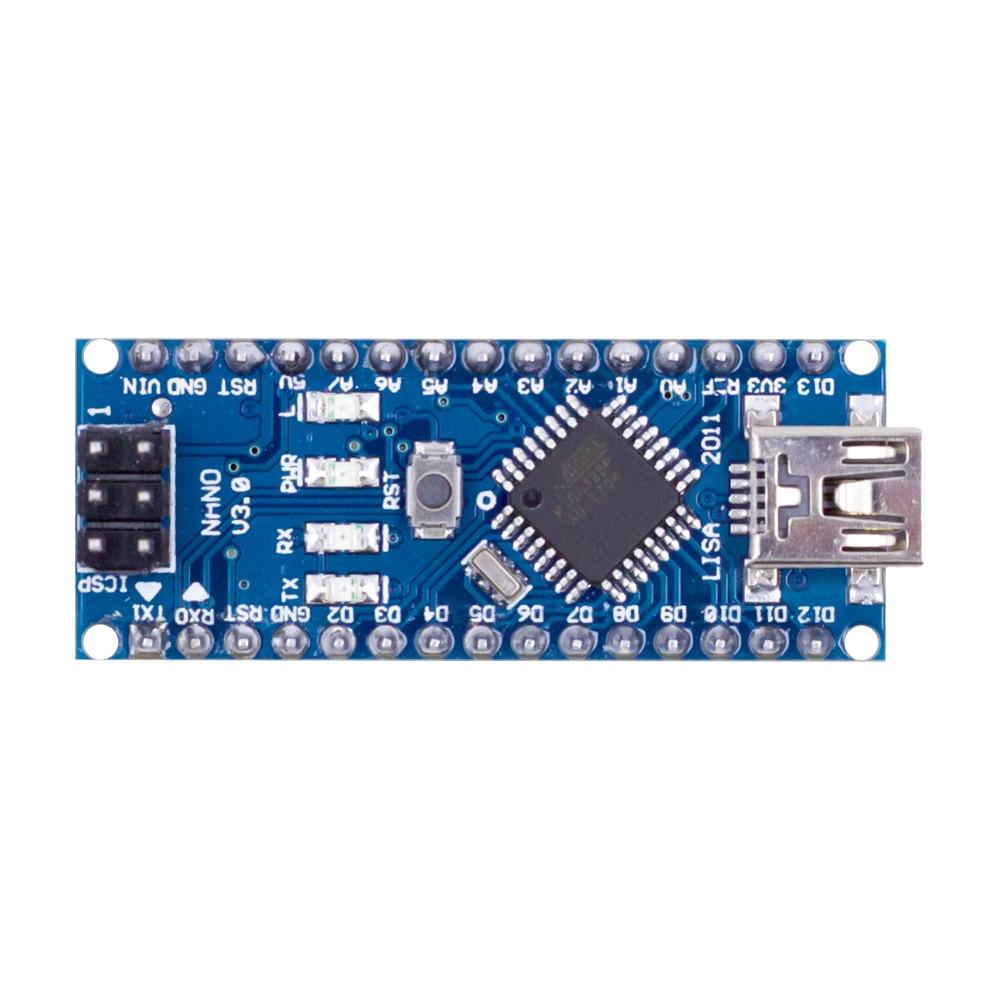 Nano Mini USB With The Bootloader Compatible Nano 3.0 Controller For Arduino CH340 USB Driver 16Mhz Nano V3.0 ATMEGA328P