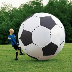Giant 130 cm Strand Bal Opblaasbare Voetbal Kinderen Kid Outdoor Games Spelen Ballon Giant Volleybal PVC Zwembad & Accessorie