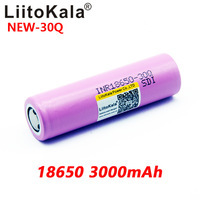 Image 5 - 8PCS Neue LiitoKala 100% original INR 18650 batterie 3,7 V 3000mAh INR18650 30Q li ion Akkus