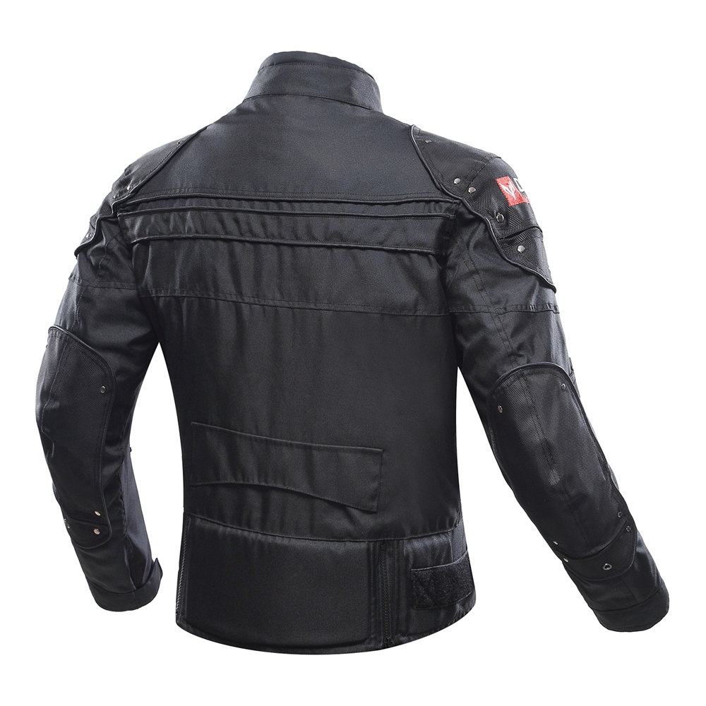 Image 2 - DUHAN Motorcycle Jacket Protective Gear Moto Men Motocross Off Road Racing Jacket Body Armor+ Riding Pants Clothing Set-in Jackets from Automobiles & Motorcycles