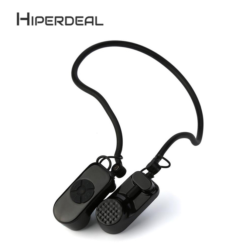 HIPERDEAL 4GB Open Ear IPX8 Waterproof Swimming Bone Conduction Headphone Stereo Headset Mp3 Noise Isolating ear Earphone Sep8