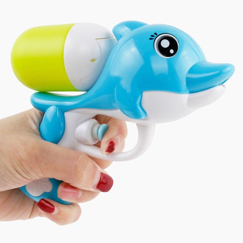 Детский Мини Дельфины водный пневматический распылитель спрей летние пляжные игрушки