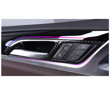 Lsrtw2017 Carbon Fiber Abs Car Inner Door Bowl Trim Panel for Bmw X3 2018 2019 2020