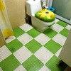 6pcs Can Be Cut Creative Freedom Splicing PVC Mats DIY Bath Non Slip Mat Kitchen Impermeable