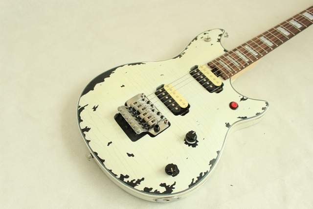 Custom Handwork Relic electric guitar EVH wolfgang including control switch 3