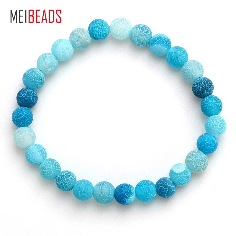 Bracelets & Bangles Meibeads Fashion Design Cozy Family Parent-child Suit Bangle Blue Evil Eye Resin Beads Bracelet Jewelry For Family Gift Ey4779 Strand Bracelets