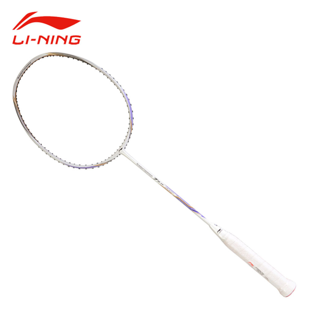 Li-Ning Turbo Charging Carbon 7II TF Badminton Racket Ball Control Type High Pounds Single Racket Li Ning Sports Racquet AYPM326 li ning professional badminton rackets carbon offensive type brazil 2016 single racket aypl102 zyf113