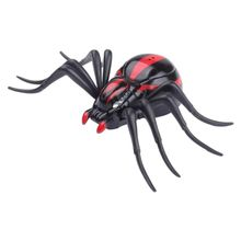 New Top Infrared Remote Control Mock Fake Ants Cockroaches Spiders RC Toy for Kids Black Red