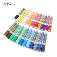 KiWarm Overvalue 12 24 Colors Wax Crayon Pen With Gift Box Oil Painting Stick Pastel Crayons