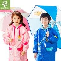Kocotree Yenilik Çocuk Karikatür Hayvan Şemsiye Açık Rüzgar Geçirmez Güçlü Uzun sap Şemsiye Çocuk Güneşli ve Yağmurlu Şemsiye
