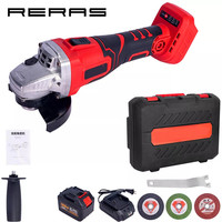 800W 42V Cordless Electric Angle Grinder Angle Grinding Machine Power Cutting Power Tool Kit Set of Tools