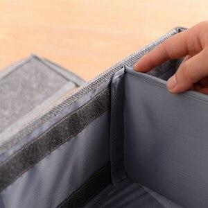 Image 3 - 折りたたみ防水保管靴箱と防塵収納多目的、便利で省スペース収納ボックス
