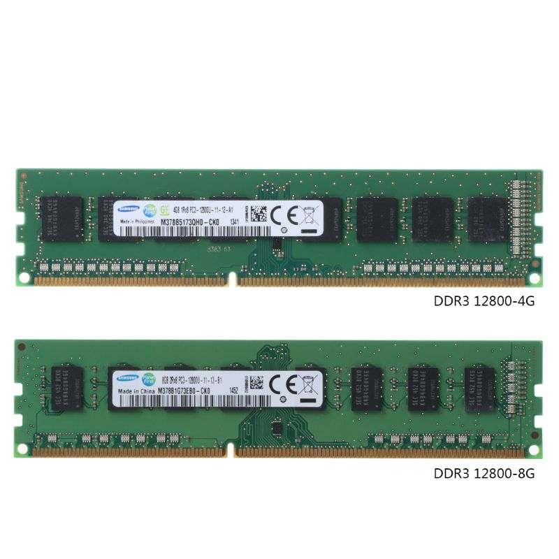 New 4GB/8GB <font><b>DDR3</b></font> PC3-12800S 1600MHz PC12800 DIMM Module for <font><b>Samsung</b></font> Chipset PC Desktop Memory RAM image