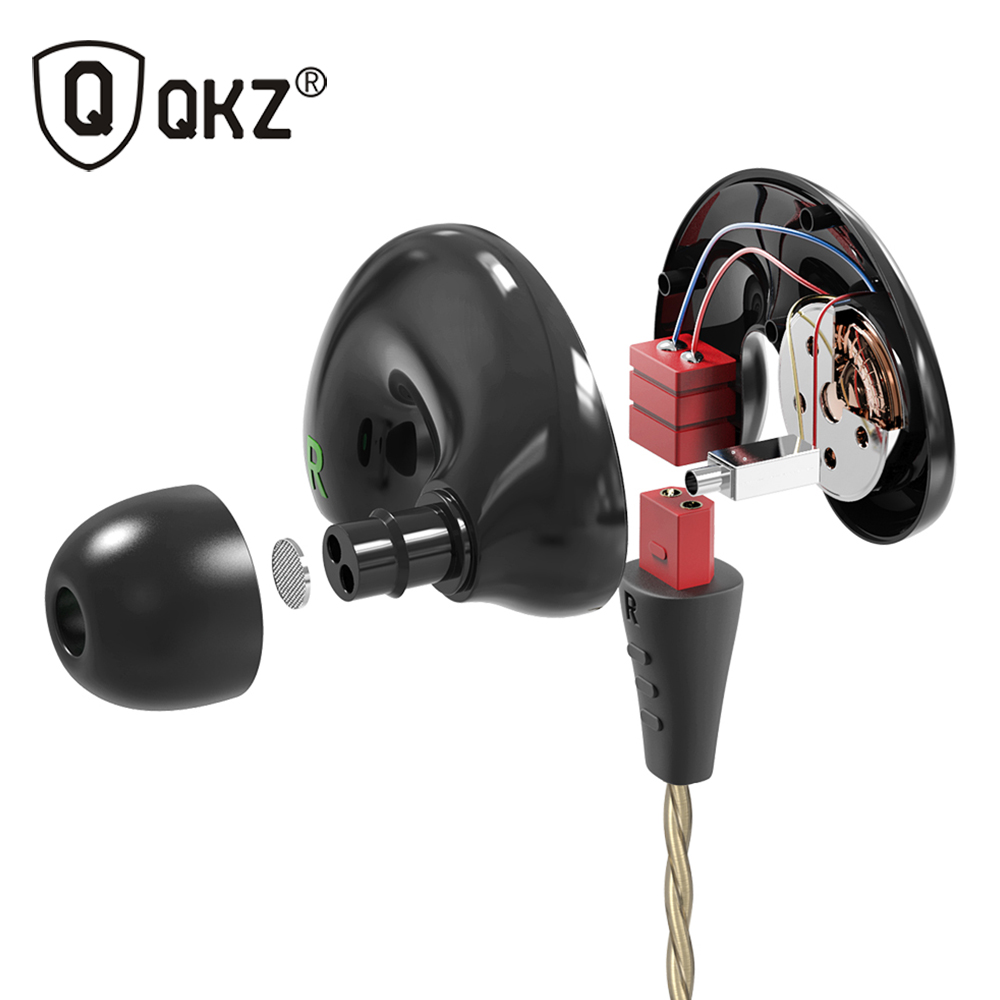 Original QKZ KD9 Hybrid Pro HD Hybrid Pro Earphone Triple Dual Driver Dynamic + Balanced Armature Mi In-Ear Line Control Mic new original xiaomi mi iv hybrid in ear earphone pro earphones mi piston 4 dual drivers wired control with mic for android ios