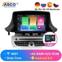 Android 9.0 Car Stereo DVD Player GPS Glonass Navigation for Renault Megane 3 Fluence 4GB RAM Video Multimedia Radio headunit