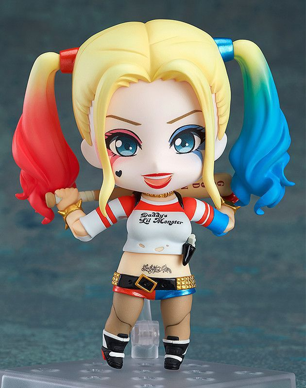 2016 Movie Suicide Squad Harley Quinn 14cm tall Figure Statue Decoration No Box