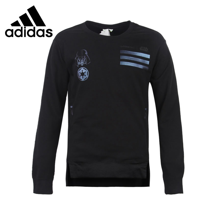 Original New Arrival Adidas NEO Label SW SWEATSHIRT Men's Pullover Jerseys Sportswear button pullover graphic sweatshirt
