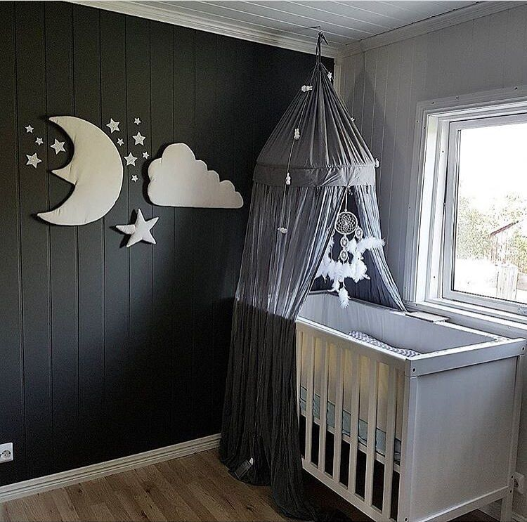 3pcs stjerne månen sky Vegg Hengende Dukke Baby Komfortabel Plysj - Dukker og utstoppede leker - Bilde 4