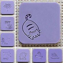 Natural Handmade Soap Stamp Mold Mini DIY Pattern Acrylic Chapter