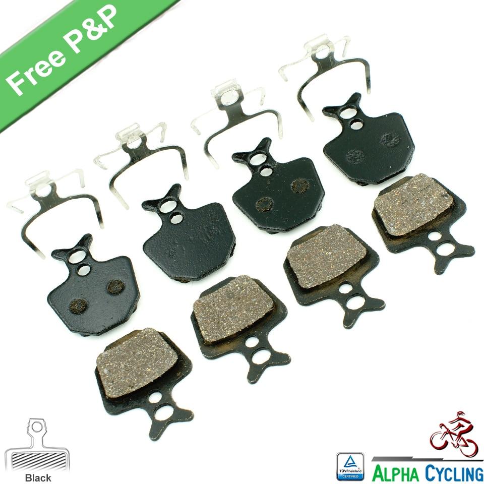 Kolutne zavorne ploščice za kolesa za FORMULA ORO K18 ORO K24 ORO PURO kolutne zavore, za GIANT DA7 kolutne zavore, 4 para, črni razred