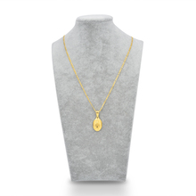 Gold-color Catholic Religious Virgin Mary Pendant Necklace Jewelry