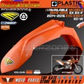 MX Orange Plastic Front Fender For KTM 2013-15 SX SXF  EXC EXCF XCW SIX DAYS 2014-16 Dirt Bike Motocross Enduro Free Shipping