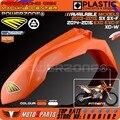 Mx orange plástico guardabarros delantero para ktm 2013-15 sx sxf exc EXCF XCW SEIS DÍAS 2014-16 Dirt Bike Motocross Enduro Envío Gratis