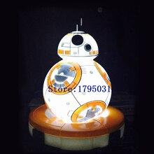 Star Wars The Force Awakens Action Figure Juguetes bb 8 Droid bb-8 Sphero Star Wars bb8 Droid Robot Nightlight Toys