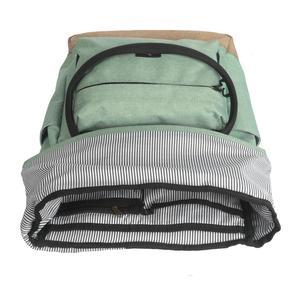 Image 5 - Tourbon Vintage Bicycle Bag Retro Bike Pannier Bags Cycling Rear Pack Seat Leisure Crossbody Shoulder Laptop Bag City Backpack